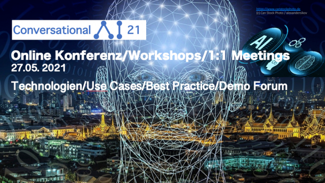 Online Event: Conversational AI 21